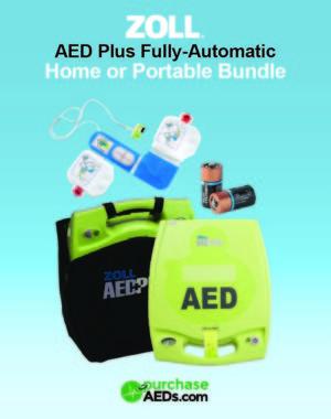 ZOLL AED Plus Auto Portable Bundle