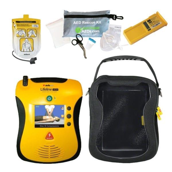 Defibtech Lifeline View AED DCF-A120-EN